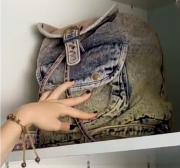 bag backpack denim helppp