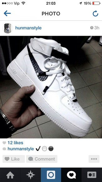 shoes mens shoes nike air force id high 2014 white