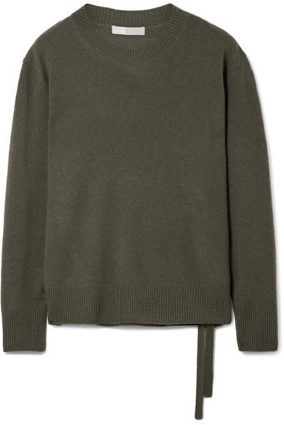 Vince sweater dark green