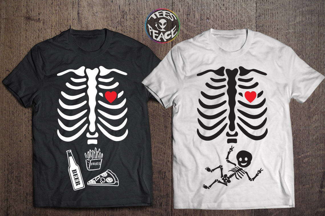 Halloween Pregnancy T Shirt.Halloween Baby Tshirts Matching Couple Shirts Halloween Maternity Shirt Baby Skeleton Shirt Pregnancy Tshirt Halloween Tees Baby Boy