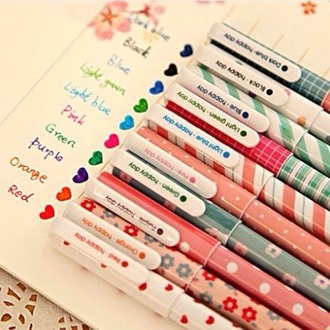 home accessory pencils desk cute girly school supplies kawaii accessory stationary