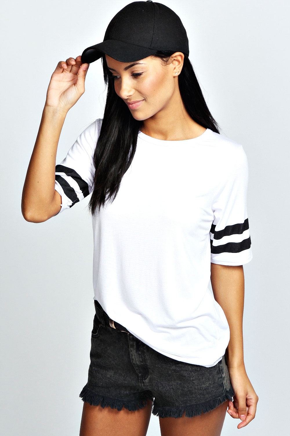 Poppy basic baseball tee