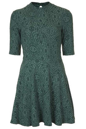 Textured High Neck Tunic - Topshop