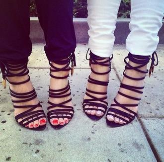 high heels straps sandals sandal heels