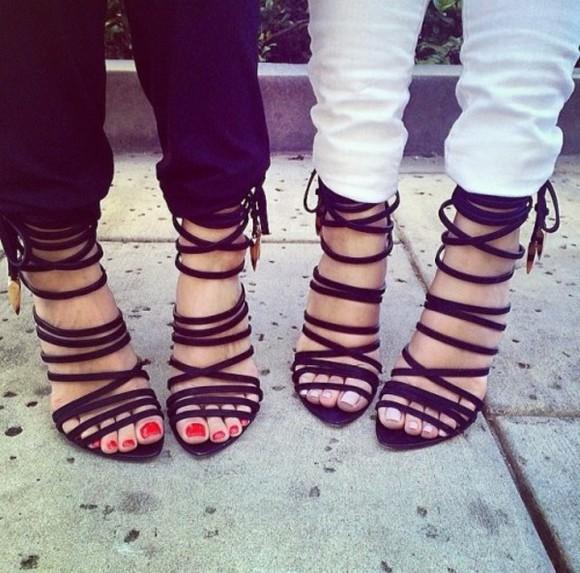 sandals sandal heels high heels straps