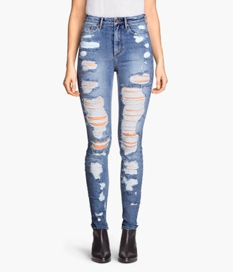 jeans skinny ripped jeans kids
