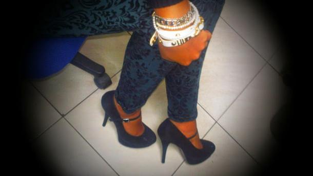 shoes fashion high heels black heels look a like