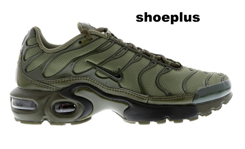 """official photos c75cf b5d25 Nike Air Max Plus Tuned 1 Tn """"Olive Green"""" Unisex Trainer Limited Edition"""