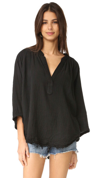 cover up black swimwear