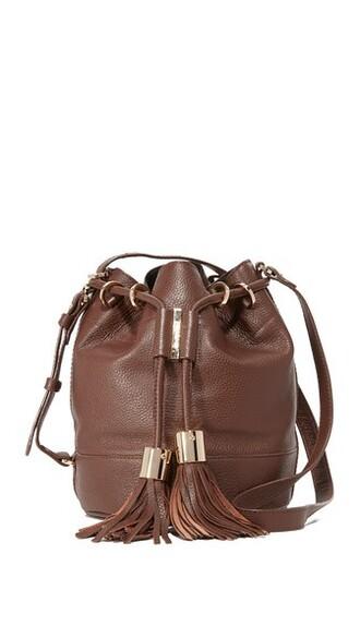 chocolate bag bucket bag