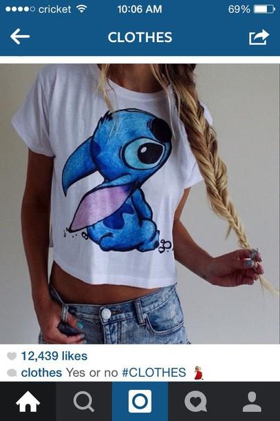 shirt stitch disney