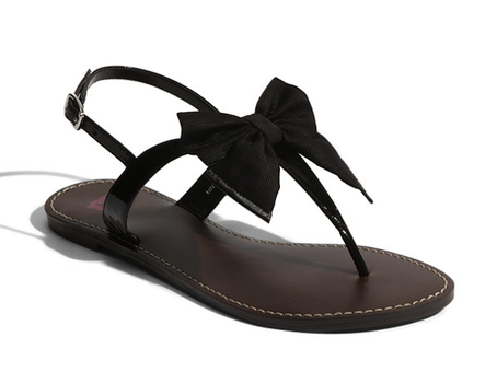 NORDSTROM BOW SANDALS on The Hunt