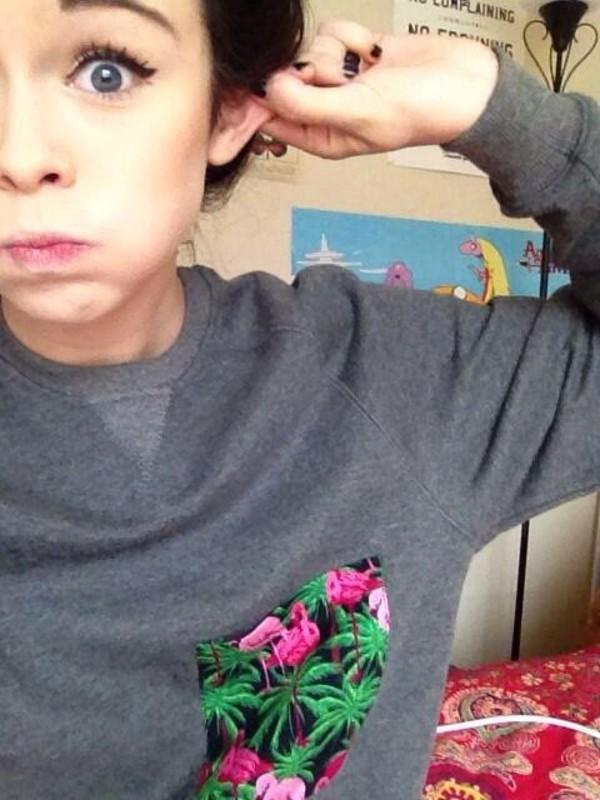 shirt crewneck sweater