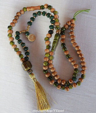 jewels tassel wooden necklace boho necklace beaded tassel necklace for her gift ideas gold tassel necklace jewelry bohemian necklace