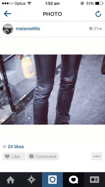 jeans leather pants leather skinny pants black leather jeans