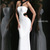 2014 Sherri Hill 8541 White/Black Sexy Sequin Dress [Sherri Hill 8541] - $180.50 : Shop Cheap Prom/Homecoming Dress 2014 on Darlingprom