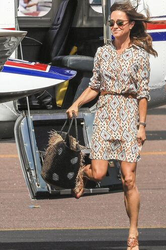 dress pippa middleton spring outfits sandals shoes bag