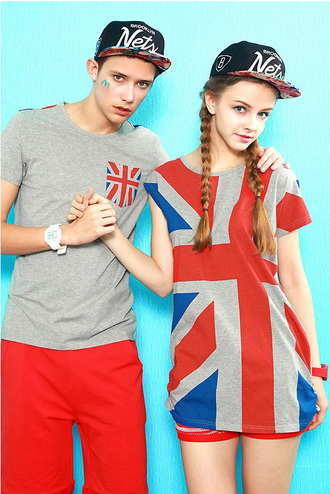top lover gift couple union jack