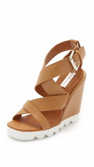 tan sandals wedge sandals shoes