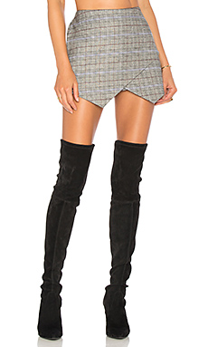 MAJORELLE Juno Skort in Pewter from Revolve.com