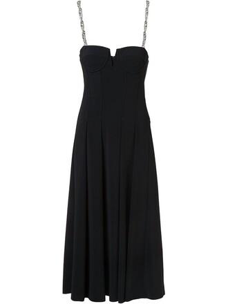 dress bustier dress black