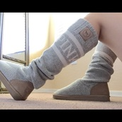 shoes,victoria's secret,pink by victorias secret,socks,boots,grey boots