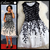 2013 spring summer designer women's dresses black and white leaf print embroidered lace celebrity event brand dress for women-in Dresses from Apparel & Accessories on Aliexpress.com