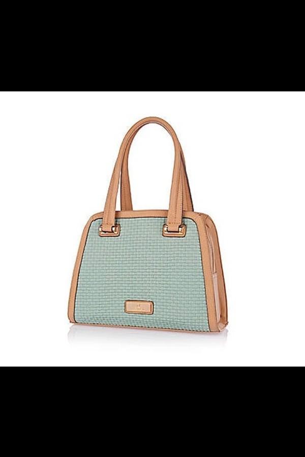 bag duck egg blue green handbag textured river island teal mint beige beautiful gorgeous zip pale
