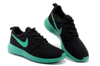 shoes nike black mint trainers