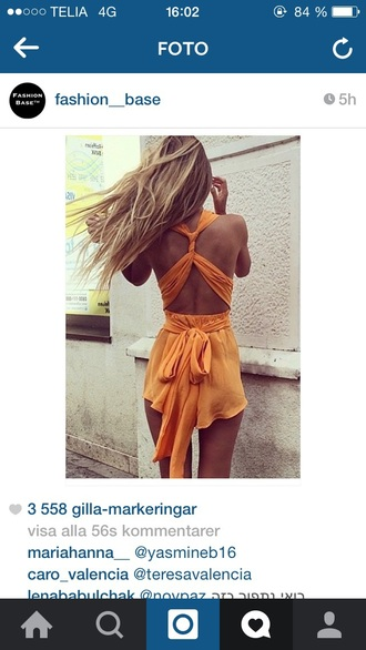jumpsuit summer orange tank top orange dress summer dress