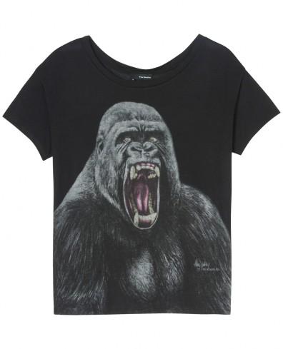 """Shirt imprimé """"naughty gorilla"""""""