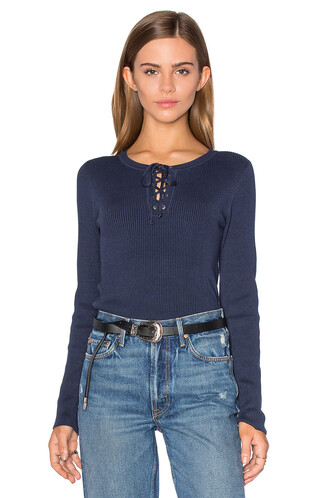 sweater lace blue