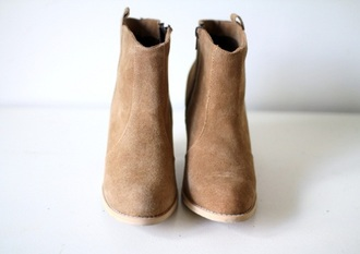 boots suede boots hat shoes suede beige shoes sand beige boots booties flat boots wedges brown