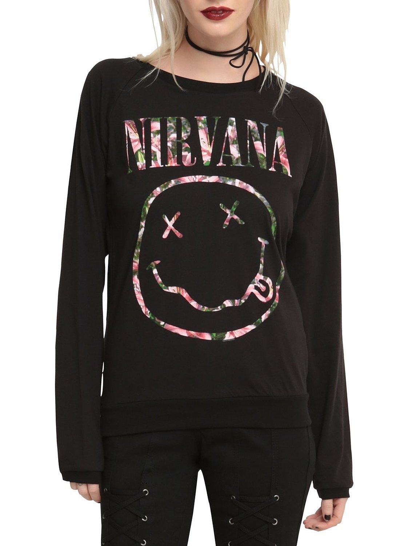 nirvana shirt for girls