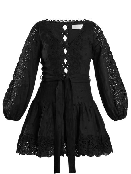 Zimmermann dress black