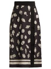 skirt,slit,black