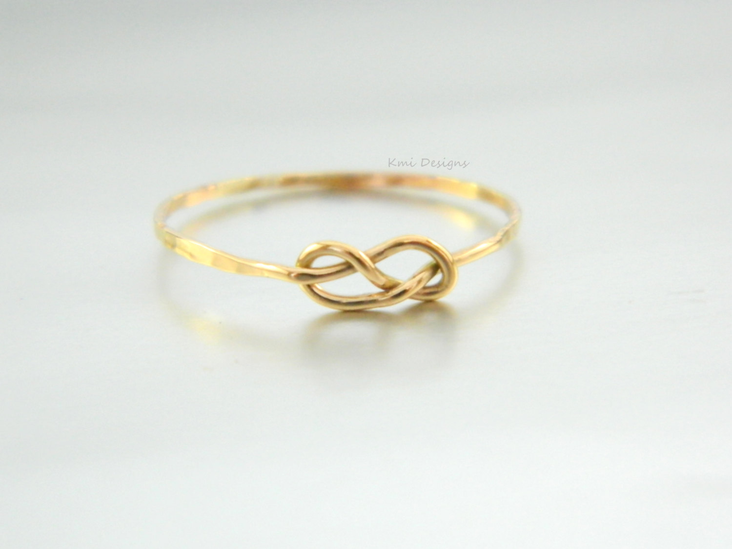 VALENTINEu0027S DAY GIFT Gold Infinity Love Ring, Engagement Ring, 14K Solid  Gold Ring, Knot Ring, Friendship Ring, ...