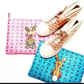 bag mcm pink summer trendy 2015 bunny designer style fashion