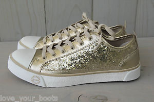 UGG Evera Glitter Champagne Gold Sparkle Sneakers Shoes US 7 EU 38 UK 5 5 New ...