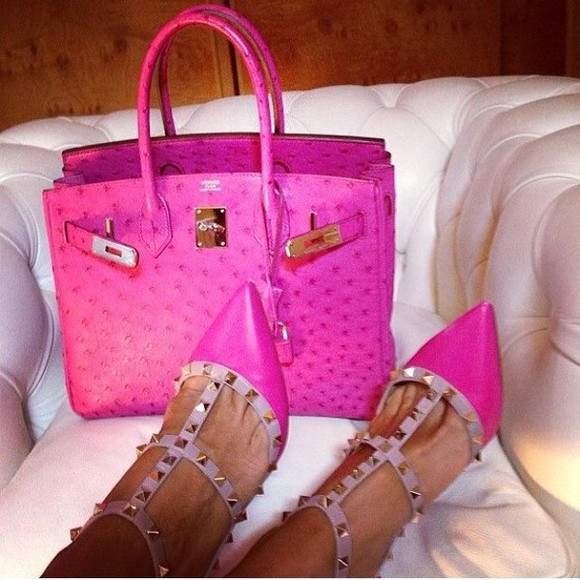 studded shoes heels