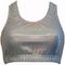 Gem gear silver hologram metallic racer back bra - epic sports