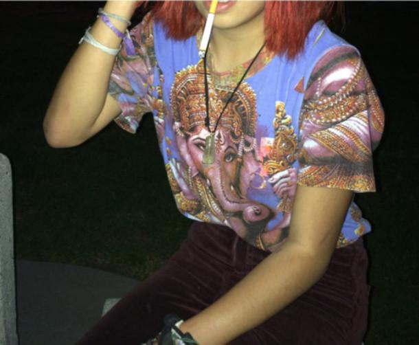 t-shirt t-shirt hippie indie