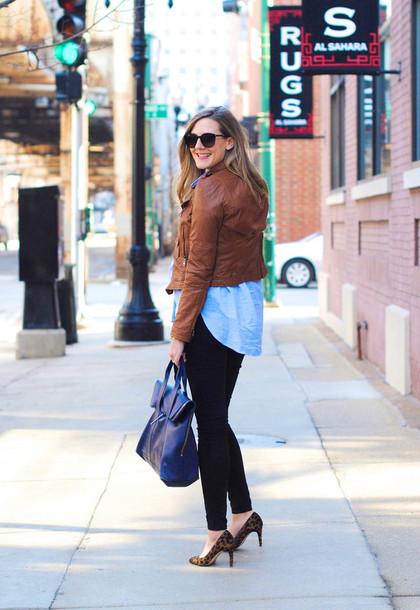 see jane shirt pants jacket sunglasses shoes bag