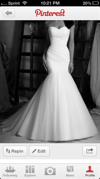 dress wedding dress wedding strapless bridal bride sweetheart sweetheart neckline