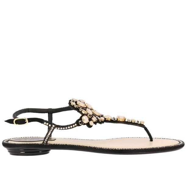 René Caovilla women shoes black