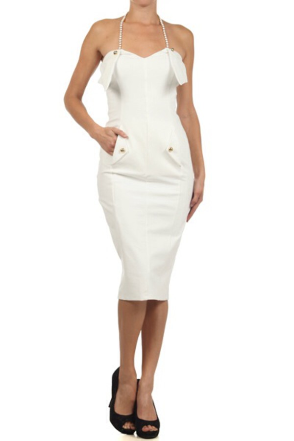 dress white dress fashion sexy dress alice in wonderland glee