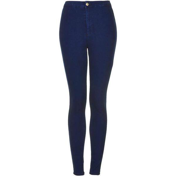 TOPSHOP MOTO Intense Blue Joni Jeans