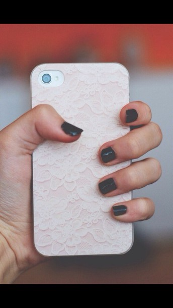 jewels iphone case iphone 5 case iphone 5 case iphone phone cover flowers white pink iphone 5 case