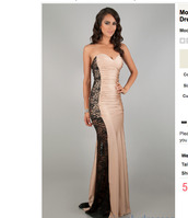 dress,beige,black,lace,long,prom dress,evening dress,gathers,pink,nylon,spandex,nylon spandex,mermaid prom dress,mermaid,black lace,beige dress,short dress,formal dress,formal prom dress,cocktail prom dress,sweetheart dress