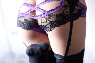 underwear purple underwear black underwear lingerie sexy lingerie suspenders sexy see through